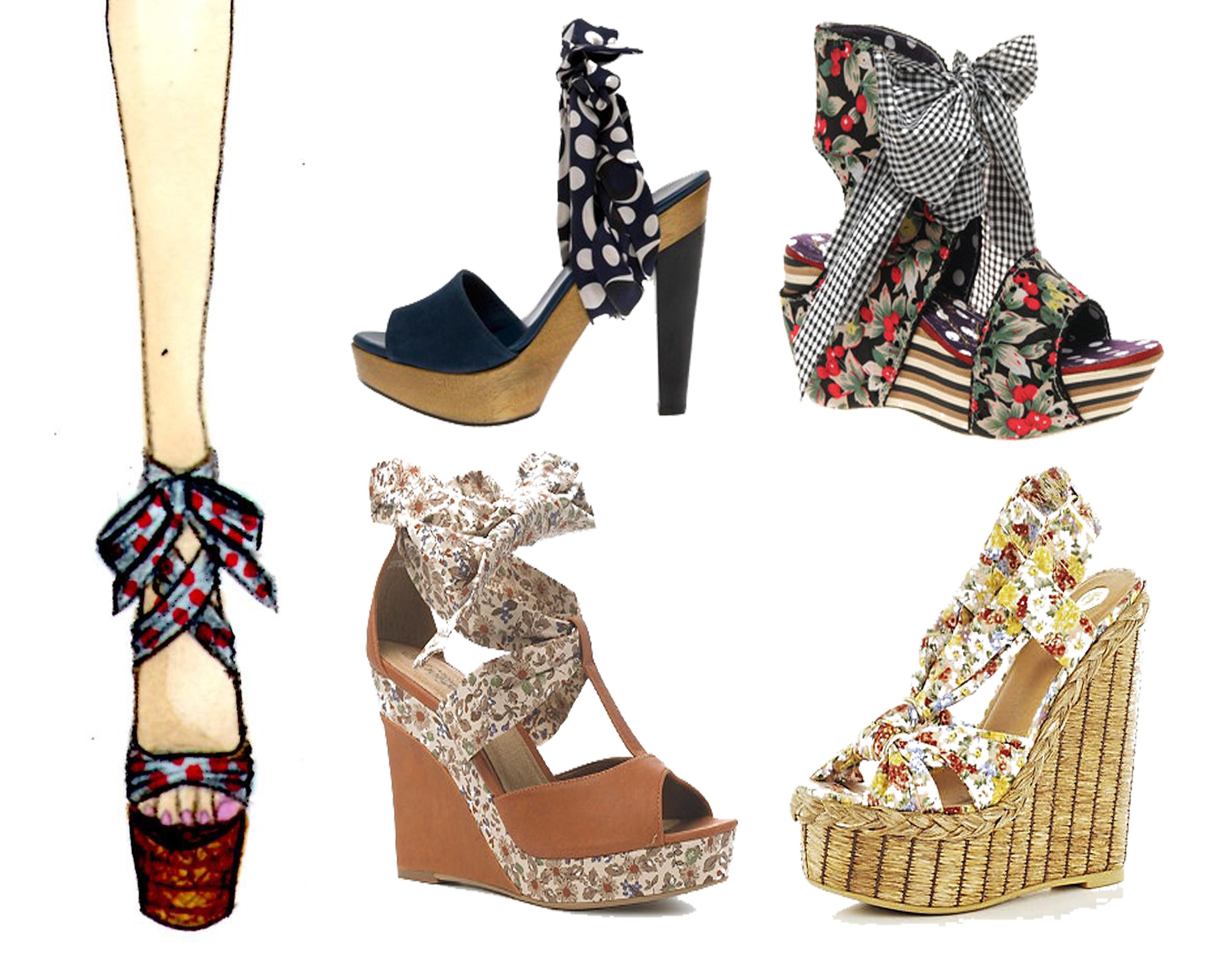 Asos Ladies Peep Toe Shoes