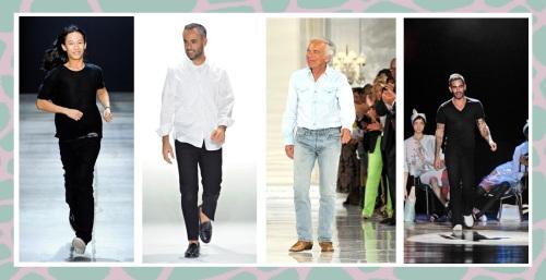 Marc Jacobs, Alexander Wang, Ralph Lauren, Calvin Klein