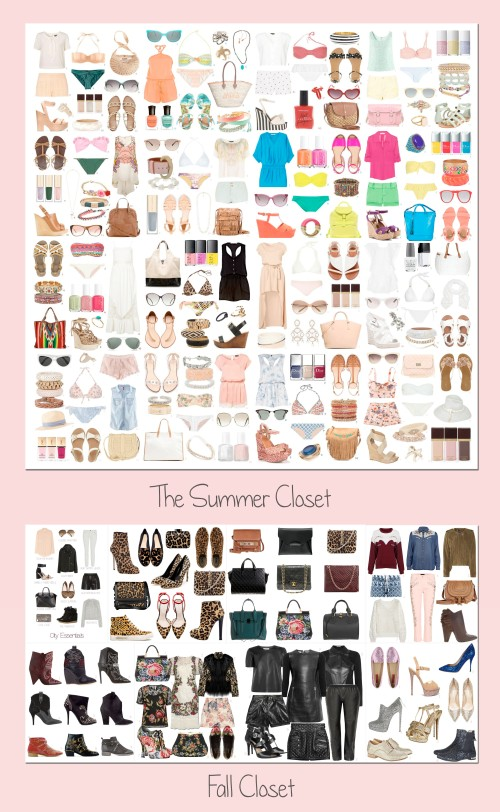 summer closet