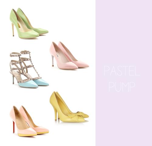 pastel pump