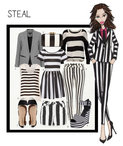 steal stripes