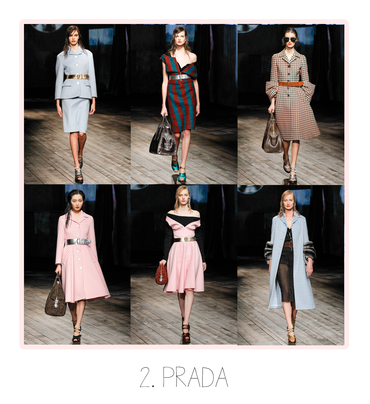 Year Collection Prada Women Shoes Rubber Cap Toes
